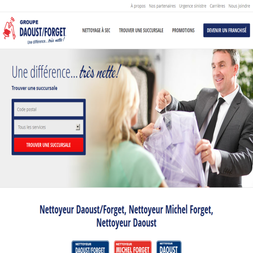 NETTOYEUR DAOUST/FORGET