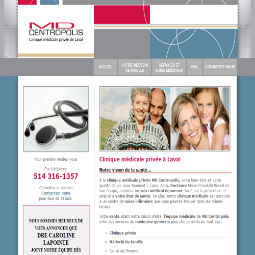 CLINIQUE MEDICALE PRIVEE MD CENTROPOLIS
