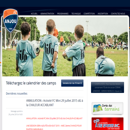 ASSOCIATION DE SOCCER ANJOU