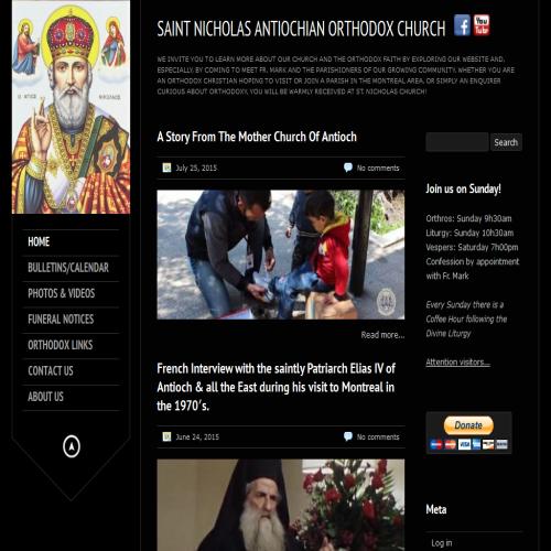 ST NICHOLAS ANTIOCHIAN ORTHDX