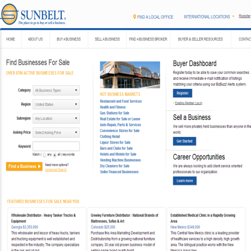 COURTIER D'AFFAIRES SUNBELT