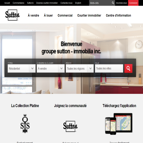 GROUPE SUTTON IMMOBILIA INC