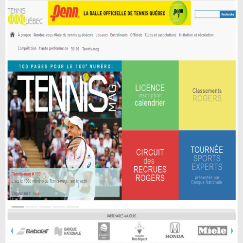 FEDERATION QUEBECOISE-TENNIS