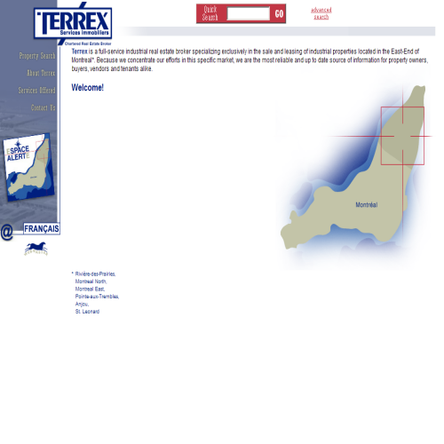 SERVICES IMMOBILIERS TERREX