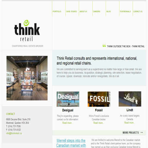 THINK RETAIL INC
