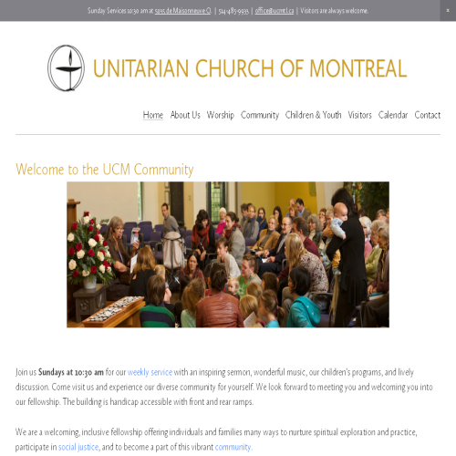 UNITARIAN CHURCH OF MONTREAL
