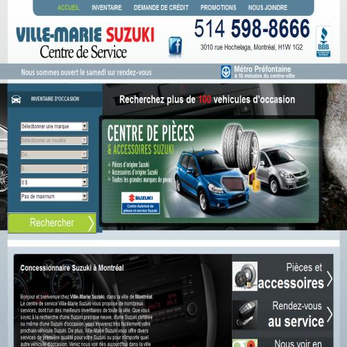 SUZUKI AUTOMOBILES VILLE-MARIE